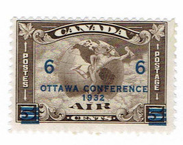 1932 Ottawa Conference Canada Airmail Postage Stamp Catalog Number C4 MNH