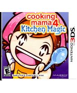 Nintendo 3DS Cooking Mama 4 Kitchen Magic - $11.95