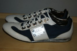 GUESS Men's Kaloon Fashion Sneaker athletics Shoes,Blue White size 12 - $35.03