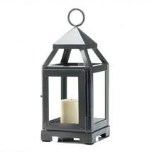 Metal Lantern Candle, Patio Iron Decor Rustic Mini Metal Candle Lantern ... - $20.23