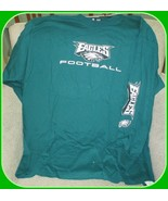 Philadelphia Eagles NFL Team Apparel Men's Green Longsleeve T-Shirt-2XL - $32.62