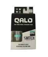 Qalo Functional Wedding Ring  SWITCH Womens Size 5 Aqua/Marble Fitness W... - $17.94