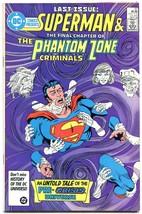 DC Comics Presents #97 1986- Last Pre-Crisis General Zod- last issue VF - $18.62