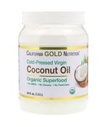California Gold Nutrition, Cold-Pressed Organic Virgin Coconut Oil, 54 f... - $29.00