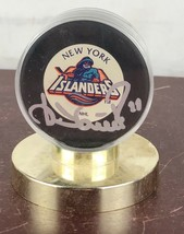Signed Official Islanders Nhl Game Puck - $14.03