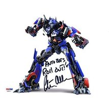 Peter Cullen Transformers Optimus Prime Signed 8x10 Photo Certified Authentic PS - $227.69