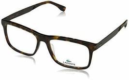 Eyeglasses Lacoste L 2788 214 Havana 55-16-145 W/Case - $77.17