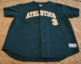 Oakland Athletics Jersey Eric Chavez # 3 MLB Baseball True Fan Size XXL - $58.19