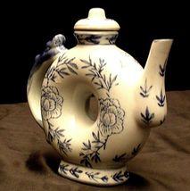 Ceramic TeaPot AA20-2153 Vintage image 3