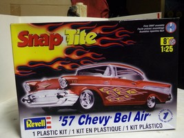 Revell New Well Done 1957 Bel Air Chevy In Red With Decals - $59.40