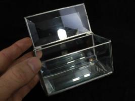 Vintage box~ Storage Jewelry Trinket Beveled Glass Box~ Rectangular styl... - $49.95