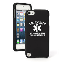For Apple iPod Touch 4th 5th 6th Rubber Hard Case Cover EMT Job is To Sa... - $12.99