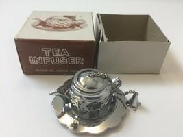 Vintage NEW Miniature Knobler Individual Loose Tea Bag Pot Infuser Teapo... - $8.79