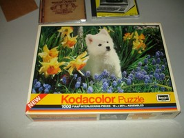 Vintage RoseArt Kodacolor Puzzle 19 x 26 1000 Pieces, Brand New, Sealed - $9.89