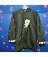 NEW Totes Black Hooded Raincoat Size M - $29.99