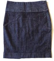Gap Denim Pencil Skirt Womens Above Knee Size 1 - $29.65
