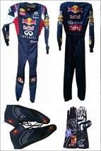 Go Kart Race Red Bull Suit CIK FIA Level 2 Approved With Free Gift - $270.99