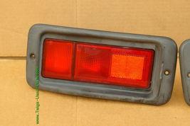 Mitsubishi Nativa Montero Sport Euro Rear Bumper Fog Light Panel 97-99 Set L&R image 3