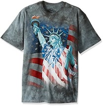 The Mountain Men's Hero Collection Defending Liberty (3X-Large|Green) - $34.63