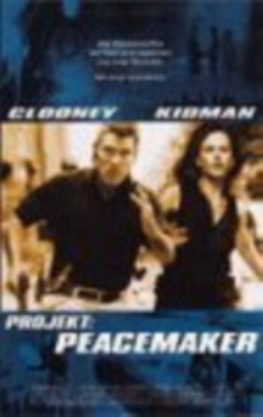 The Peacemaker Vhs