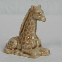 Wade Whimsies Figurine Brown Giraffe American Series #2 Red Rose Tea Eng... - $4.99