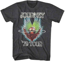 Journey-1979 Tour-X-Large Charcoal Heather T-shirt - $19.34