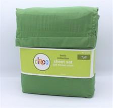 Circo FULL Solid Green Sheet Set Sheets Basic Collection - $29.99