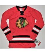 NHL Apparel Boys Chicago Blackhawks Jersey Size Medium 10-12 NWT - $22.16