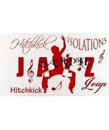 Jazz Dancer Single Colour PDF Cross Stitch Chart - $8.00