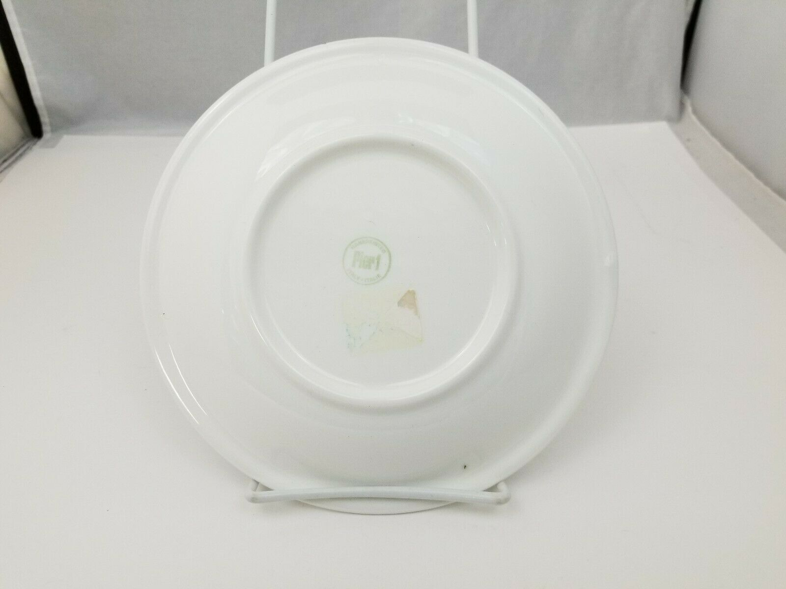 """Pier 1 Salad Plates Set of 3 La Primula Srl Made in Italy 7.75"""" Blue Red Green image 3"""
