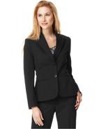 Tahari Black Notch Collar Two Button Jacket Blazer  16   $129 - $48.51