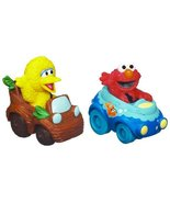 Playskool Sesame Street Elmo and Big Bird Racers - $39.55