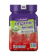 Vitafusion Organic Men's Gummy Multivitamin, 90 Count - Non-GMO, Gluten-FreE. - $23.75