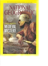 National Geographic - November 2011 - England Medieval Mystery, Scandina... - $1.03
