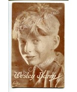 WESLEY BARRY-1920-ARCADE CARD-SILENT FILM STAR G - $19.56