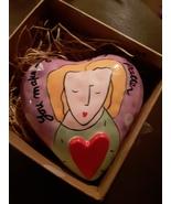 Sandra Magsamen Ceramic Heart for Silvestri  - $42.50