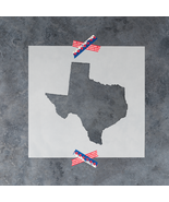 Texas State Stencil - Reusable Stencils of Texas State in Multiple Sizes - $5.99+