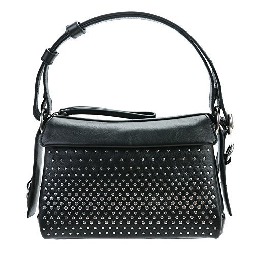 Marc Jacobs Women's Prism 24 Degrad Studs Crossbody Bag M0007805 Black