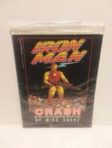 IRON MAN - CRASH: FIRST COMPUTER GENERATED GRAPHIC NOVEL - FREE SHIPPING - $14.03