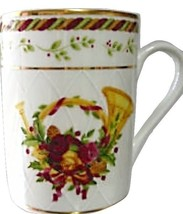 Royal Albert Seasons of Colour Red Accent Mug NEW (S) - $39.59