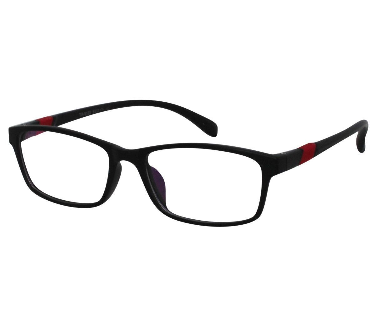 ed9c3e50711b S l1600. S l1600. Previous. EBE Bifocal Reading Glasses Mens Womens  Rectangular Full Rim Red Matte Black