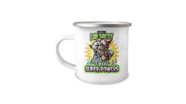 Chemistry Lab Super Powers Scientist 12oz Camper Mug - $17.95