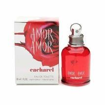 Amor Amor by Cacharel for Women Eau De Toilette Spray 1 oz - $33.53