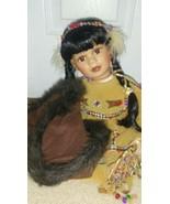 Heritage Signature Collection American Princess Winema #12307 Porcelain - $14.85
