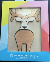 Manhattan Toy 5 Piece Deer Puzzle Activity Toy for age 18M+ NEW NIB - $15.18