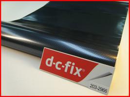 DC Fix Black Carbon Self Adhesive Vinyl Contact Paper 17.7'' x 39.3'' 200-2966 - $10.25