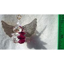 Suncluster Crystal Angel Ornament image 2