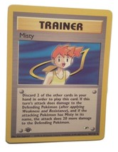 Pokemon Card - 1st Edition Misty Trainer (102/132) Gym Heroes Set **NM*** - $9.99
