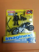 IMAGINEXT DC SUPER FRIENDS CATWOMAN WITH CATWOMAN, CAT AND MOTORCYCLE NI... - $59.99