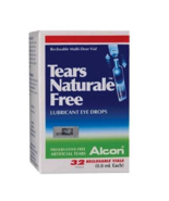 4 X  Alcon Tears Naturale Free Lubricant Eye Drops (32's) Free Shipping - $57.80
